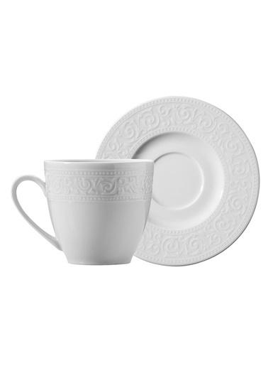 Kütahya Porselen Açelya Kahve Fincan Takımı Renkli